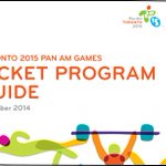 PAN AM GAMES: #TO2015 Ticket Guide has schedules and prices incl #Mississauga events! http://t.co/BHBXiXMUvX http://t.co/yYfgvqfx90 @TO2015