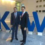 Roadshow #InvestEU continues in #Frankfurt @jyrkikatainen meetings with banking sector representatives @KfW http://t.co/yBkbWPU0El