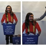 Visit us at @londonhomeshow this weekend #Ldnont. We've got the best selfies! 25 yrs of #recycling #CityGreen http://t.co/7AAKN1SNs3