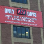 The countdowns started, tickets on sale Monday 2nd Feb  #stleger http://t.co/9L49o76E23