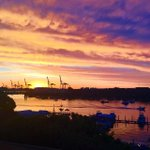 Freo sunset - thanks to @AshleaKukura for sharing this gorgeous shot to #perthlife #perth #fremantle http://t.co/HAe80ww2Ma