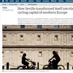 #Sevillahoy, la capital del ciclismo para 'The Guardian' http://t.co/MbWUazgcfg | cc @SevillaEnBici | #bicicleta http://t.co/427VlEDNwz