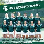 Whats the only thing better than MSU tennis? MSU tennis with free pizza! Come support your Spartans on Sunday! http://t.co/mOFSUmZJcr