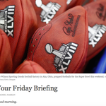 Busy morning? Heres what you need to know to start your day. http://t.co/8zZey4URXq via @nytnow http://t.co/LJ5atjRBMY