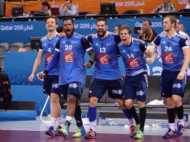 Horsfoot bravo l 39 equipe de france de handball qui se - Finale coupe du monde 2015 handball ...