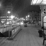 Le centre-ville désert ! #Bruxelles #alerteàlabombe http://t.co/5V5TqAlnNB