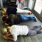 Its #FitnessFriday at BlabTV: @MorganMilbradt, @KNicoleWebb & @DreaRdG all competed in a planking contest! Who wins? http://t.co/3wHbrAJxSM