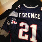 Getting the essentials packed for this weekend's road trip.  #GoPats @Patriots http://t.co/envyx6VK8I