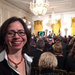 I always get excited to be at the White House. #precisionmedicine event about to start. http://t.co/97GZFi7O8l