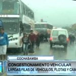 Transportistas de Cochabamba levantaron bloqueo en la ruta al occidente del país http://t.co/v3IguZhCnC http://t.co/RpIVcIkgxl