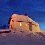Kapelle Maria zum Schnee - Bettmeralp @AletschArena_ch @bettmeralp @MySwitzerland_d @valaiswallis #Schnee http://t.co/Oi1csnvn1Y