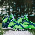 Earl Thomas will wear these Air Jordan VII cleats in the Super Bowl http://t.co/R7YeidfHD8