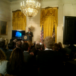 Exciting announcement from the @WhiteHouse on a precision medicine initiative. Happening now: http://t.co/MHt6XJVpsS http://t.co/FAMM40rCim