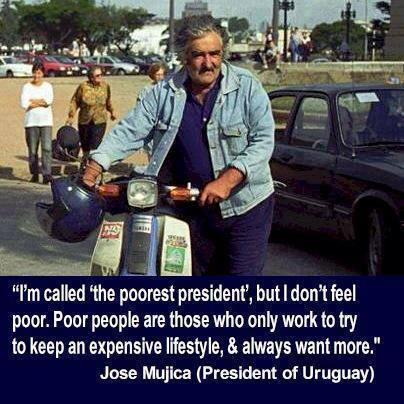 The World's Poorest President: He donates around 90% of his $12000 monthly salary to charities to benefit poor people http://t.co/bjoEjc4qTr