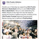 This looks like a full evening of great CSU-Pueblo #PackPride! @gothunderwolves @ChieftainNews @Rev89 @KOAA_5 http://t.co/DxWZr0qZjy