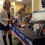 Thanks to @UGGaustralia for providing @sarnicoledavis and the NESN team Tom Brady-style pancakes today. Excellent! http://t.co/x02NH164Zy
