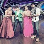 RT @PriyaManiWeb: Stars of the day @99Neerav & @priyamani6 fighting over the gupppp.....unhappy anchors @padmasoorya @Pearle_Maaney ;-) htt…