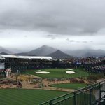It may be raining, but it is a cool view at the @WMPhoenixOpen! http://t.co/3CdbKuHOKJ