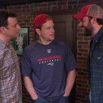 Jimmy Kimmel finds New England Patriots locker room guy http://t.co/p67xocyoB9 http://t.co/WxCny3KtoY