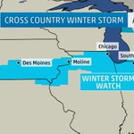 BREAKING: Winter storm watches just posted from IA to northwest OH, including #Chicago, Quad Cities, Des Moines. http://t.co/xEPtxF54QO