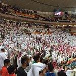 قطر تحقق افضل انجاز رياضي عربي بتأهلها الى نهائي كاس العالم لكرة اليد الف مبروك لسمو الامير مبرووك ياهل قطر http://t.co/HsNUWnq93B