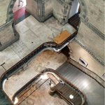 Stunning! A view of the central staircase at Mumbai CST @mumbaiheritage http://t.co/yGSbNoVKDo