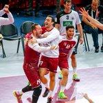 نُبارك لمنتخبنا #العنابي لكرة اليد التأهل الى نهائي كاس العالم بعد نخطيه المنتخب البولندى بنيتجة 31 - 29 #QatarSC http://t.co/PVJKO0ICLA
