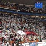 علم #قطر يرفرف في سماء صالة #لوسيل بعد تأهل منتخبنا الى نهائي #كاس_العالم_لكرة_اليد_قطر_2015 @2015Handball http://t.co/Ok2pPoIfIG