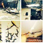 Heres is an inside peek of the fire damage! We will be posting our progress throughout  the whole month. http://t.co/sTC3lWu3RI