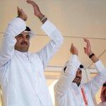 تفاعل الشيخ تميم بن حمد أمير #قطر بعد تأهل المنتخب القطري لنهائي مونديال اليد #يا_إخوان.. Via @AliEisaQat http://t.co/hcbczG4qr3