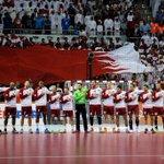 The first finalists Team #Qatar. PC @2015handball #Doha #LiveitWinit http://t.co/NAkrpkeaKY