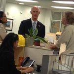 Florida Gov. #RickScott shakes hands with @ndn staff, including @Ndn_EStaats. http://t.co/KJsa5VsmbA