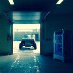 De Solar Truck heeft vandaag weer meters kunnen maken door de sneeuw, tot maandag! http://t.co/FtOgg6Ki3t