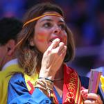Cheering with love, This is #Spain التشجيع بحب ، هذه هي #إسبانيا #LiveitWinit #العنابي_انت_قدها http://t.co/fBlCfmBbYK