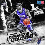.@SacramentoKings center @boogiecousins to replace injured Kobe Bryant for Western Conference at #NBAAllStarNYC! http://t.co/Bexe37MnDM