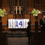 Fans, teammates pay respects to Banks; You dont think its real until you see the casket' http://t.co/NKrTfjauWd http://t.co/lz7gr1Q9Ac