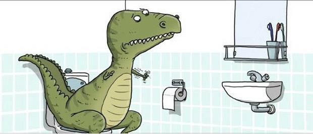 I can relate to this too much right now #lol #trex #funny #cartoon #relateable #trexarms http://t.co