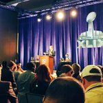 """Were thrilled to be here & look forward to coming back."" ~ @nflcommish on Arizona hosting #SB49 http://t.co/xDzGdc3oyq"
