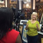 Ellen Simms is interviewed about 2/6 First Friday. Theme is Downtown College Town. #lkld http://t.co/eOwYElO8YG