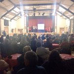 What an incredible turn out at Horfield Young Peoples Club! #Horfield #Bristol #40Years - Joe & Tristan http://t.co/o3G0JrrWsL