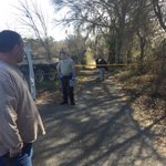 On the scene with Montgomery Co. Sheriffs investigating a report of a dead body off Cooks Station Rd. http://t.co/tidlNPdrDR