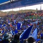Los candidatos a la Gobernación y Municipio de Oruro en impresionante concentración. http://t.co/uBwBRIT7Y5