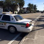 PBSO at 15th Ave. and Federal in Lantana. Mentally disabled man with handgun on apartment building roof. http://t.co/1j1Ibq8nOK