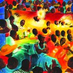 Jepson exhibit explores jazz, blues influence on art: http://t.co/5NfryFmb1U    @DoSavannah   #Savannah http://t.co/jDaAQXNyAt