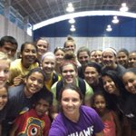 Selfie at our youth clinic in Granada, Nicaragua #vamosalaNICA @lorasvolleyball http://t.co/XCCn4OOn8Z