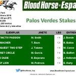 Palos Verdes Stakes (Gr II) 1,200 metros $200,000 en premios a repartir y Secret Circle en busca de su octavo triunfo http://t.co/86eCkwuu1t