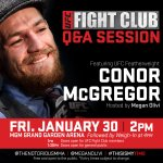 #TheIrishTakeover continues as @TheNotoriousMMA hosts the @UFCFightClub fan Q&A TODAY! STREAM: http://t.co/1QdtTQjDr2 http://t.co/9A9jWAxoMt