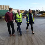 @LorHiggins and @geraldnash receive a tour of the Byrne-Mech plant in Athenry today from Manager Emmet Byrne http://t.co/pOVSyvJmoR