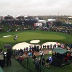 Dont know the numbers, but #azwx doesnt seem to be slowing the crowds #PhoenixOpen @12News http://t.co/N0mPUsuRes