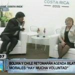 #MarParaBolivia Evo afirma que hay voluntad de Chile para retomar agenda bilateral http://t.co/i9y6NwMgDn http://t.co/UUoSSP0Raa